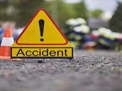 Uttar Pradesh: मथुरा हाइवे पर दर्दनाक सड़क हादसा! कार और ट्रक की टक्कर में दंपत्ति समेत 4 लोगों की मौत, 4 घायल