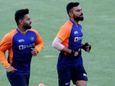 विराट कोहली ने ऋषभ पंत को दी टीम से बाहर करने की धमकी! IND vs NZ से पहले सामने आया वीडियो