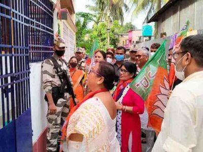 WB By-Poll 2021: दिनहाटा में BJP उम्मीदवार के साथ हुई धक्का-मुक्की, बीजेपी ने चुनाव आयोग से की शिकायत, मांगी सुरक्षा