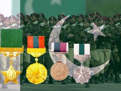 Pakistan Army Medals: बहुत सारे लोग सोचते हैं कि पाकिस्तान की सेना ने तो अब तक एक भी युद्ध नहीं जीता है, फिर सैनिकों को मेडल किस बात के लिए मिले हैं. इस आम धारणा को दूर करने के लिए हम अपने यहां के अवॉर्ड पर भी चर्चा कर सकते हैं. जिस तरह भारत में न केवल युद्ध के दौरान, बल्कि किसी भी ऑपरेशन के दौरान सैनिकों को वीरता और बहादुरी दिखाने के लिए मेडल दिए जाते हैं, उसी तरह पाकिस्तान में भी दिए जाते हैं. सेना युद्ध में जीते या हारे.. साहस और शौर्य का परिचय देने वाले सैनिकों के सम्मान में मेडल दिए जाते हैं. आइए जानते हैं, वहां कौन-कौन से मेडल दिए जाते हैं.